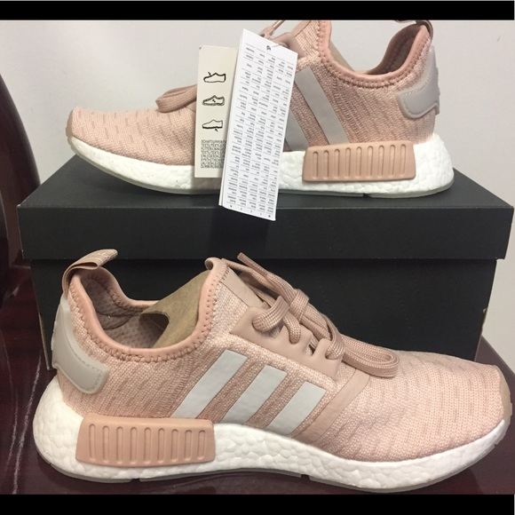 finest selection d6689 7bc03 adidas Shoes | Nmd R1 Ash Pearl Cq2012 | Poshmark